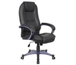 כיסא מנהלים גבוה ריפוד PU דגם מרום