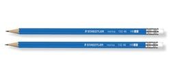 12 עפרון עץ עם מחק,שטדלר נוריקה או זפיר