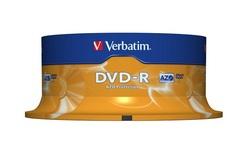 25 דיסקים DVD-R לצריבה ורבטים