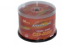 דיסקים CD-R לצריבה Silver Line